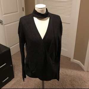 Express Charcoal Sweater